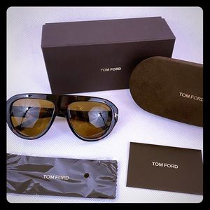 Tom Ford Felix aviator sunglasses NWT